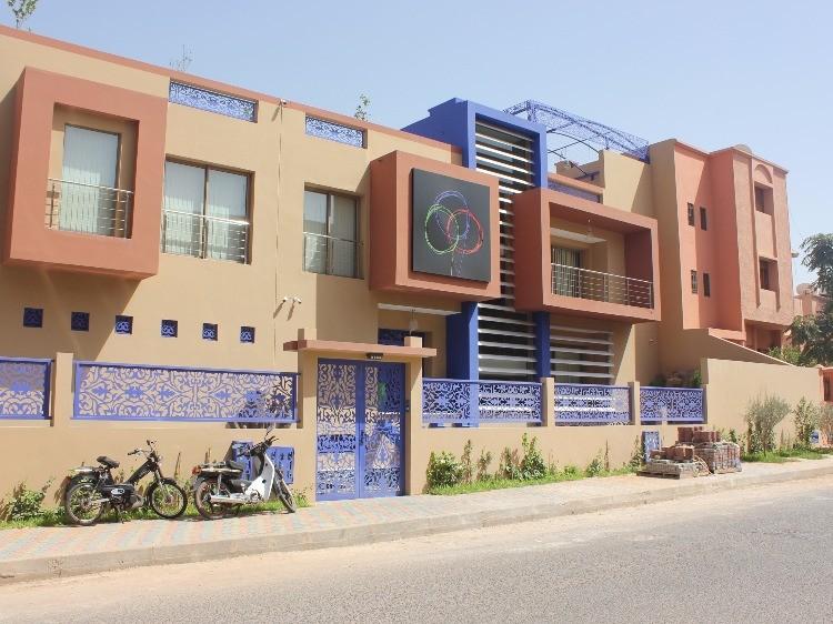 photo de l'extérieur de l'agence de Marrakech